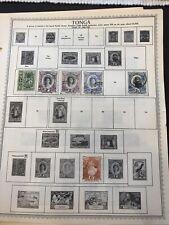Tonga M/U Stamps- Lot A-67823