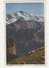 Schynige Platte Die Jungfrau Switzerland Vintage Postcard 388a