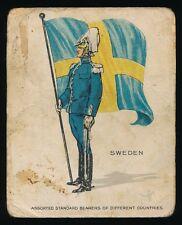 1915 T105 Zira Cigarettes -STANDARD BEARERS -Sweden *Tier 2-Tough*
