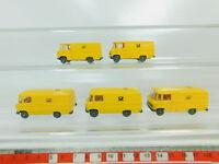 BO525-0,5# 5x Wiking H0/1:87 Transporter Mercedes-Benz/MB Post 27, NEUW