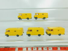 Bo525-0, 5 #5x Wiking H0 / 1:87 Transporter Mercedes-Benz/MB post 27, New Valued