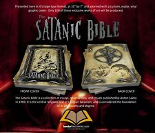 The Satanic Bible - Anton LaVey - Custom Design by BooksRecovered FREE SHIPPING