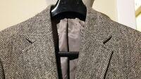 HARRIS TWEED ~ BASKIN 2BTN Men's Gray Sport Coat BlazerJacket Size 38R 100% Wool