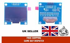 """1.30"""" 128x64 White OLED Display with I2C interface For Arduino-Pi"""
