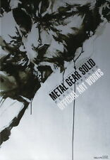 METAL GEAR SOLID PEACE WALKER OFFICIAL ART WORKS Japanese Book
