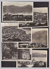 Switzerland LAUSANNE x23 picture postcards inc 13 real photo