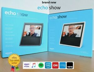 Brand New! Amazon Echo Show Alexa Smart Assistant - Black or White - Free Ship!