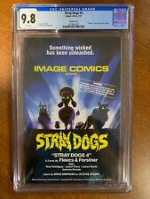 "🔥Stray Dogs #4 - CGC 9.8 - ""Demons"" Movie Homage - 1st Print - Image Comics🐶"