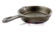 Small Rustic Cast Iron Skillet Decorative Kitchenware Home Decor Cookware 6 inch