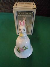 Collectible Bell Rabbit Bone China Dinner Bell.Free Postage Usa