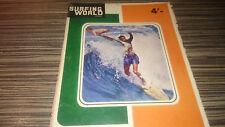 SURFING WORLD MAGAZINE MARCH 1964 VOL 4 NO.1 LONGBOARDING SURFING RARE