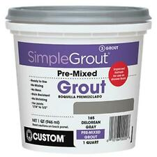 Building Products Pmg09Qt Quart Pre-Mixed Grout Natural Gray