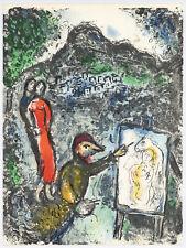 """Marc Chagall """"Devant Saint-Jeannet"""" original lithograph"""