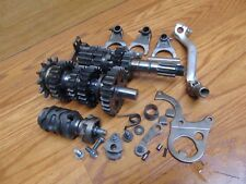 1998 Honda CR250R Transmission Shaft Drum Forks Shift Mechanism Gears