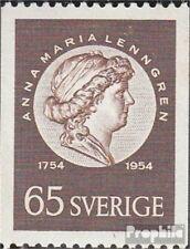 Suède 395C neuf avec gomme originale 1954 Lenngren