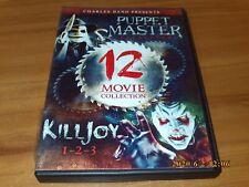 Puppet Master/Killjoy: 12-Film Collection (DVD, 2012, 3-Disc Set)