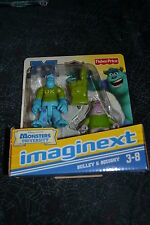 FISHER PRICE IMAGINEXT MONSTER UNIVERSITY SULLEY & SQUISHY