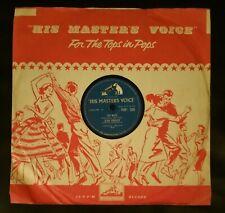 ELVIS PRESLEY  TOO MUCH    CLASSIC 1957 HMV  78 RARE