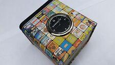 Fossil Retro Design Storage Tin (Can) with Clock