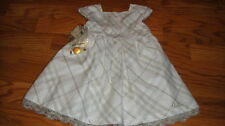 NWT NEW BURBERRY 9M 9 MONTHS DRESS GORGEOUS IVORY