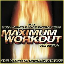 MAXIMUM WORKOUT VOL.2 - V/A - 2 CD - COMPILATION - ** BRAND NEW / SEALED **