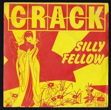 CRACK DISCO 45 GIRI SILLY FELLOW - BRIDGE HOUSE RECORDS BHS 8