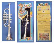 TROMBA giocattolo vintage, Avril Bontempi, scatola originale cm 42x16x9,5