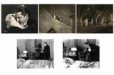 DRACULA 1931 - BELA LUGOSI - SET OF 5 - A4 PHOTO PRINTS