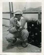OLD IRONSIDES 1926 JAMES CRUZE Tripoli MICROPHONE 10x8 STILL