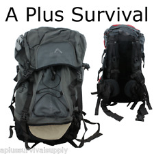 "26"" Gray Hiking Survival Kit Bug Out Bag Kit Backpack Camping Hunting Bug Out"