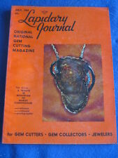 LAPIDARY JOURNAL - TRIBUTE TO MARGE CUNNINGHAM - July 1969 v 23 # 4