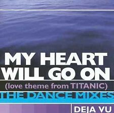 My Heart Will Go On (Love Theme from Titanic) [Single] by Déjà Vu (CD, Feb-1998,
