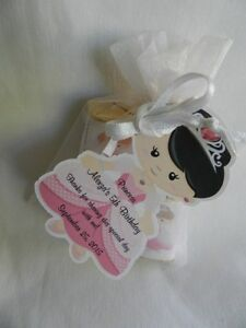 UNIQUE PERSONALIZED PRINCESS BIRTHDAY PARTY BABY SHOWER PARTY FAVOR GIFT TAGS