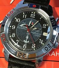 VOSTOK KOMANDIRSKIE RUSSIAN MILITARY WATCH #431831