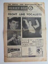 THE BEATLES MERSEY BEAT PAPER 1963 AUG 1-15, VOL 2 No 53 BEATLES LAST CAVERN GIG