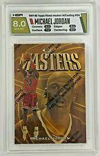 1997-98 Topps Finest Masters w/Coating MICHAEL JORDAN #154 HGA 8 NM-MT