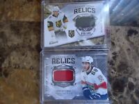 2019-20 BLACK DIAMOND RELIC LOT  CODY GLASS AND MIKE HOFFMAN NICE