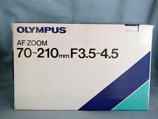 OLYMPUS AF 70-210mm F3.5-4.5 LENS OM-77AF OM-707 OM-101 OM-88 NEW IN BOX