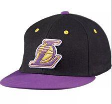 Adidas Lakers Basecap schwarz lila LA Originals Fitted Cap NBA NEW Gr. M