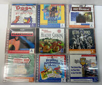Lot of 9x SEALED Vintage CD-ROM PC Games & Software Windows 95/DOS DA92984 PCL5