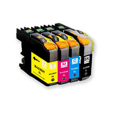 4PK LC203 XL High Yield Compatible Ink Cartridges For Brother MFC-J460DW J480DW
