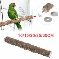 Haustier Vogel Papagei Ständer Sitzstange Stock Plateau Schleif Pfote Käf