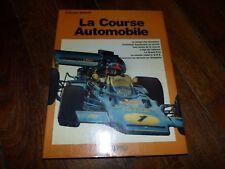 """Livre vintage """"La course automobile"""" - Rossel Edition (1974) - Excellent état"""