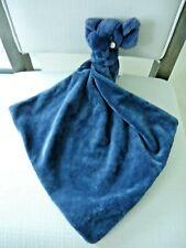 Little JellyCat London Bashful Blue Elephant Security Blanket NEW