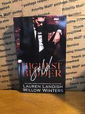 Sold : Highest Bidder by Willow Winters and Lauren Landish, PB, 2016