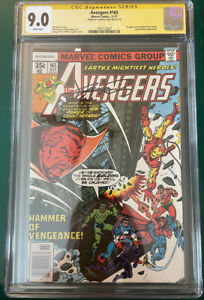 Avengers #165 (11/1977) Signed by George Perez - CGC-graded 9.0 - Marvel