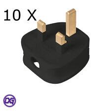 4-Gang Way Extension arrière plomb Noir Multi Plug Câble d/'alimentation Neon IND 13 A