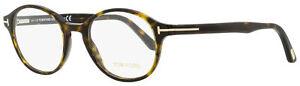 Tom Ford Oval Eyeglasses TF5428 052 Dark Havana 49mm FT5428