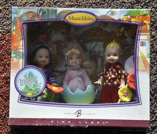 NEW WIZARD OF OZ  Barbie Munchkins Dolls 2006 NIB