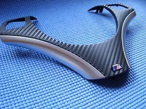 BMW Lenkradspange E81 E82  E84 E87 E88 E89 E90 E91 E92 E93 X1  Carbon